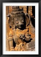 Framed Stupa Details, Shwe Inn Thein, Indein, Inle Lake, Shan State, Bagan, Myanmar