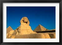 Framed Sphinx, Pyramids at Giza, Egypt