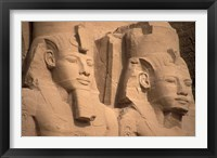 Framed Statues of Ramses II, Abu Simbel, Egypt