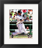 Framed Victor Martinez 2014 baseball