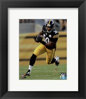 Framed Ryan Shazier Running Football