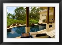 Framed Villa at Banyan Tree Resort on Mahe Island, Seychelles