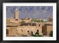 Framed Traditional Houses Outside Zagora, Draa Valley, Morocco