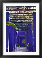 Framed Villa Courtyard, Marrakech, Morocco