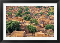 Framed View of the Dogon Village of Songo, Mali