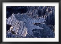 Framed Tsingy Rock Formations, Madagascar