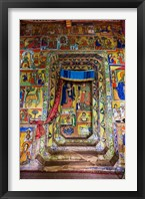 Framed Ura Kidane Meret monastery, Lake Tana, Ethiopia