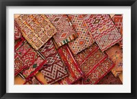 Framed Woven Fabrics, Essaouira, Morocco
