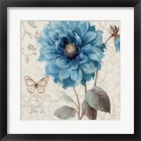A Blue Note II Framed Print