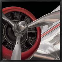 Framed Travel by Air Dark II