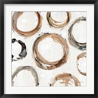 Framed Abstract Balance XI
