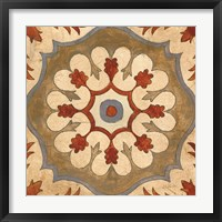 Andalucia Tiles C Color Framed Print