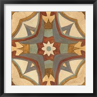 Andalucia Tiles E Color Framed Print