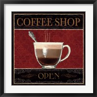 Coffee Shop I Framed Print