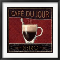 Coffee Shop III Framed Print