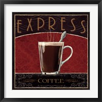 Coffee Shop IV Framed Print