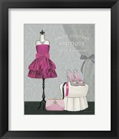 Dress Fitting Boutique II Framed Print
