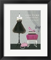 Dress Fitting Boutique III Framed Print