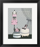 Dress Fitting Boutique IV Framed Print