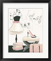 Dress Fitting I Framed Print