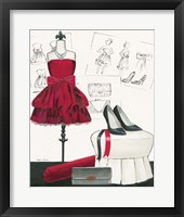 Dress Fitting II Framed Print
