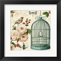 Free as a Bird I Framed Print