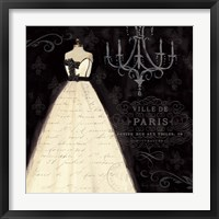 French Couture I Framed Print