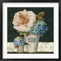 French Vases II Framed Print