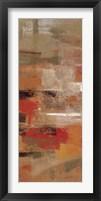 Flamenco Steps Panel I Framed Print