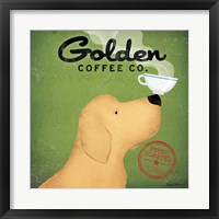 Framed Golden Coffee Co.