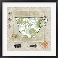 Garden Cafe II Framed Print
