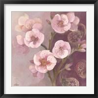 Framed Gypsy Blossoms II