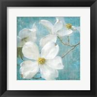 Framed Indiness Blossom Square Vintage I
