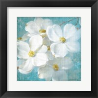 Framed Indiness Blossom Square Vintage II