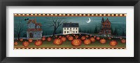 Framed Halloween Eve Crescent Moon