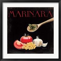 Italian Cuisine IV Framed Print