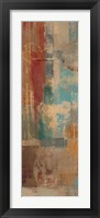 Oriental Trip Panel I Framed Print