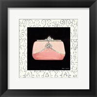 Samanthas Boudoir with Border II Framed Print