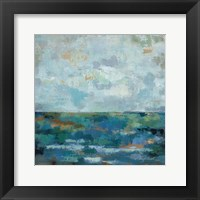 Seascape Sketches II Framed Print