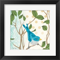 Framed Summer Bird I