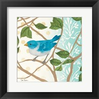 Framed Summer Bird II