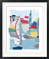 Framed Summer Sail II