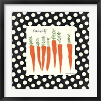 Framed Simple Carrots SP