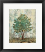 Verdi Trees II Framed Print