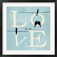 Well Said I Framed Print