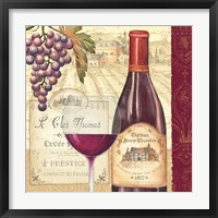 Framed Wine Tradition II