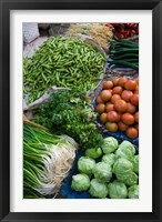 Framed Produce at Xizhou town market, Yunnan Province, China