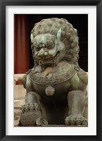 Framed Mythical Animal, Forbidden City, National Palace Museum, Beijing, China