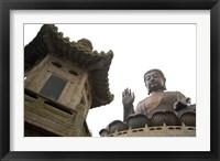 Framed Giant Seated Buddha, Hong Kong, China