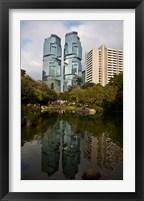 Framed Lippo Office Towers, Hong Kong, China